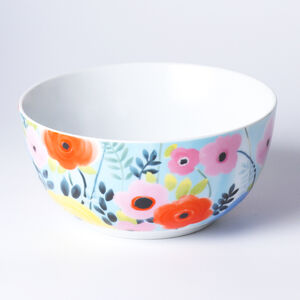 Atelier 75 Blue And White Flower Cereal Bowl
