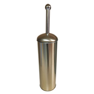 Gold Dome Lid Toilet Brush and Holder