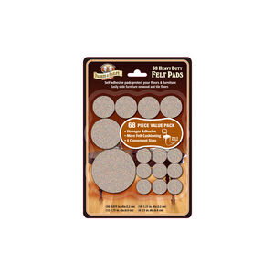 Parker & Bailey Heavy Duty Felt Pads 68 Pack