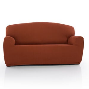 Regal Mills Easystretch Rust 3 Seater Sofa Cover