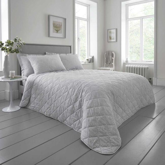 Gracie Bedspread 200x220cm - Grey