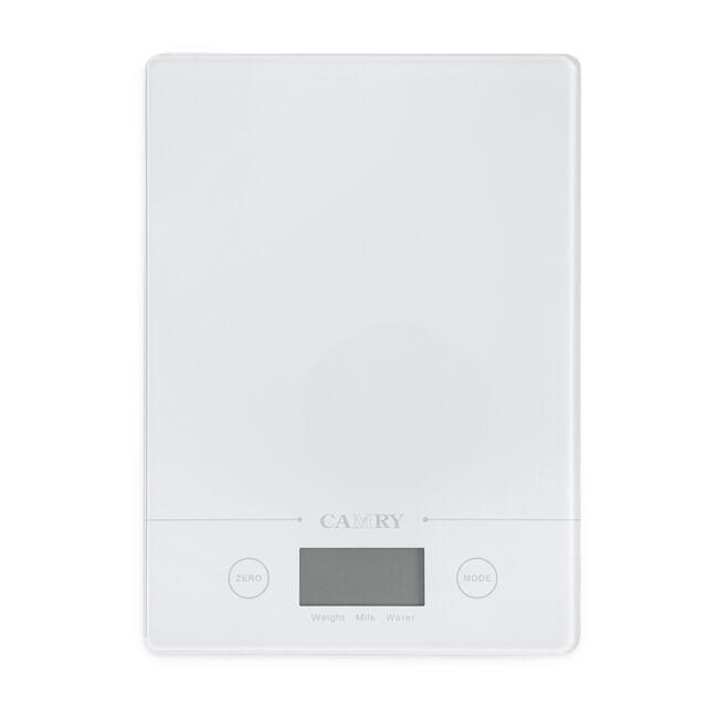 Camry White Rectangular Electronic Kitchen Scale