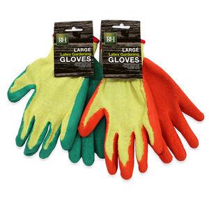 Latex Gardening Gloves Large
