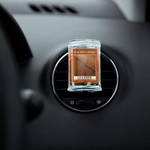 Tuscany Car Air Freshener - Leather