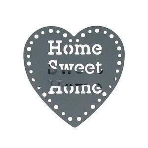Home Sweet Home Dark Grey Curtain Clips