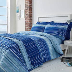SINGLE DUVET COVER Robert Blue