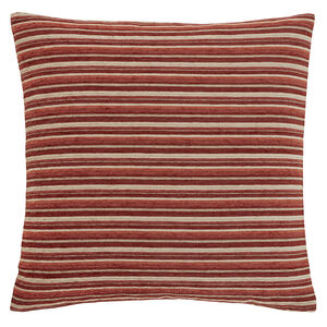 Harry Stripe Red 45x45 Cushion