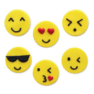 Emojicon Sugarcraft Toppers