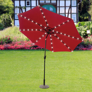 72 LED Solar Parasol Lights