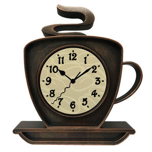 "10"" Famuna Bronze Clock"