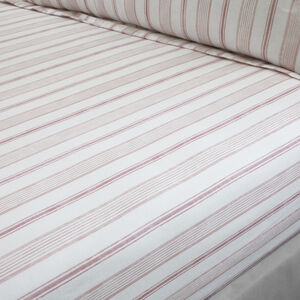 EADAOIN BLUSH Single Fitted Sheet