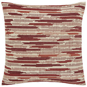 Incandescent Cushion 58x58cm - Red