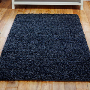 ELSA SHAGGY PLAIN 80x150cm  Charcoal