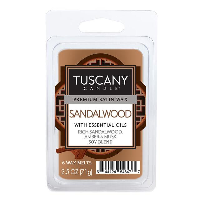 Tuscany Candle Melt Cube Sandalwood