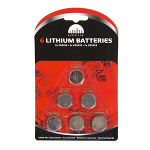 Audio 6 Lab Lithium Batteries