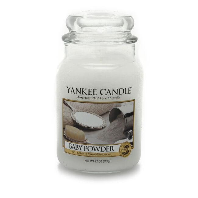 Yankee Candle Baby Powder Large Jar