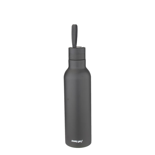 Bodygo Vacuum Sport Bottle 480ml - Black
