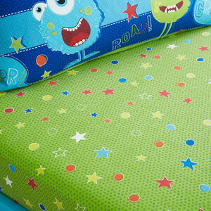 Mischievous Monsters Fitted Sheet