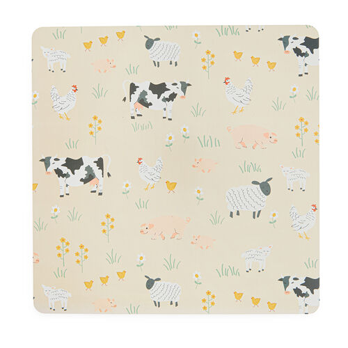 Country Meadows Square Mats & Coasters - 4 Pack