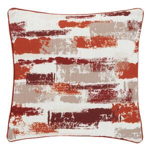 Painterly Cushion 45x45cm - Terra