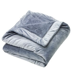 Nicole Day Luxury Denim Throw 130cm x 170cm