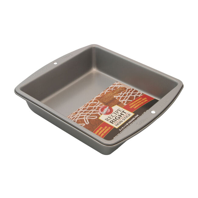 Wilton Recipe Right Square Cake Pan 8""