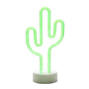 Cactus Neon Table Light