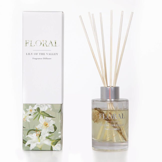 Floral Lily Of The Valley Reed Diffuser