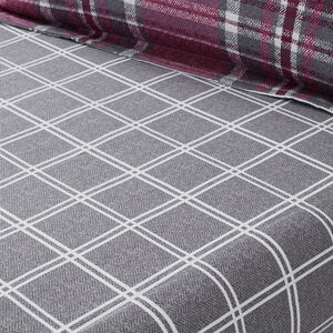 BRUSHED COTTON MCGILL CHECK Single Fitted Sheet