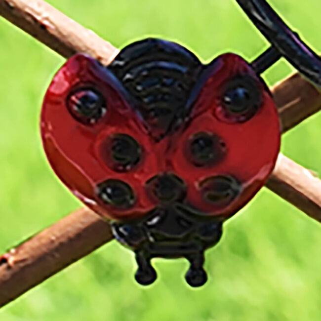 Ladybird Decor Solar Bulb Light