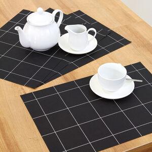 Monochrome Squares Placemat