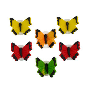 Butterfly Sugarcraft Cake Toppers