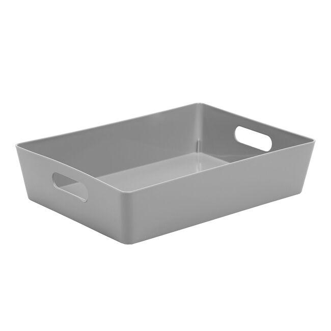 Storage 5.01 Rectangular Basket Cool Grey
