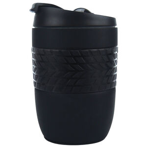 Body Go Black Stainless Steel Travel Mug 260ml