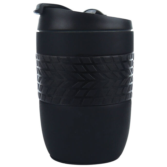 Body Go Black Stainless Steel Travel Mug 260ml