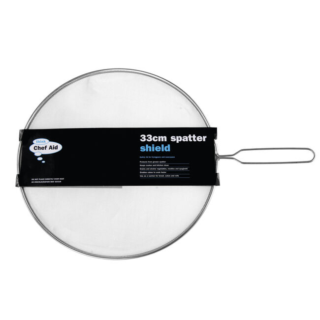 Chef Aid Splatter Guard 33cm