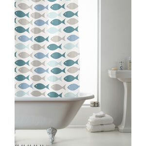 Peva Fish Shower Curtain
