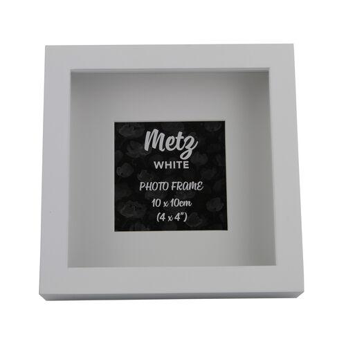 8x10 METZ WHITE Matt Frame