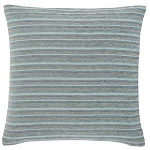 Harry Stripe Duck Egg 45x45 Cushion