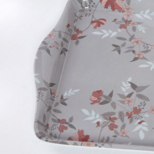 Lace Floral Tray