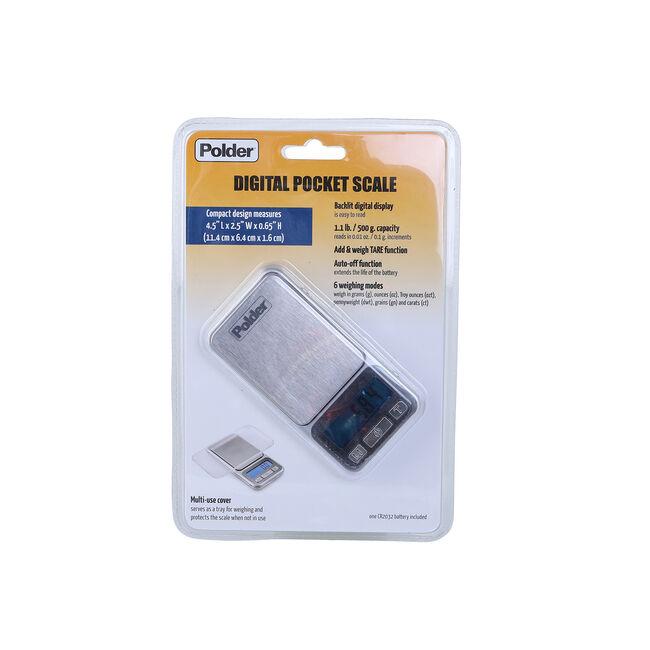 Polder Digital Pocket Scale