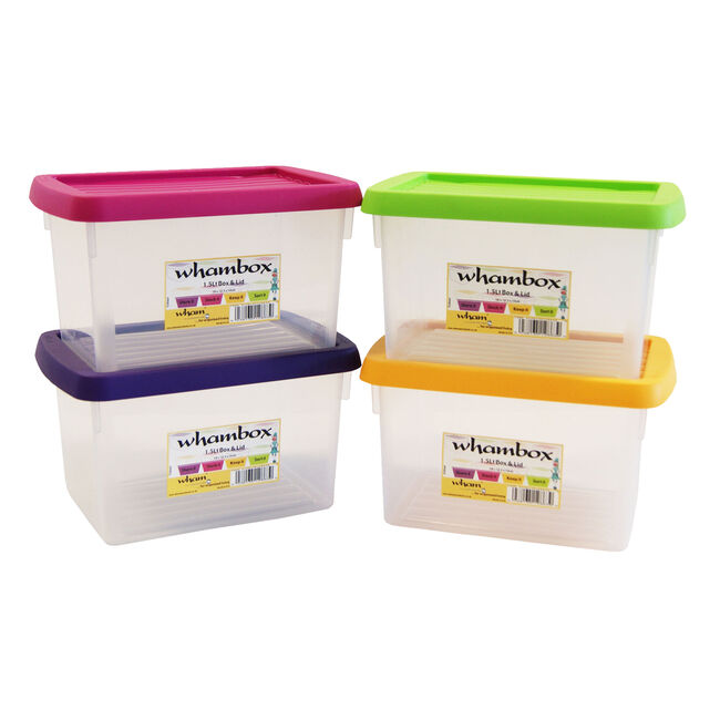 Handy Storage Boxes 4 Pack