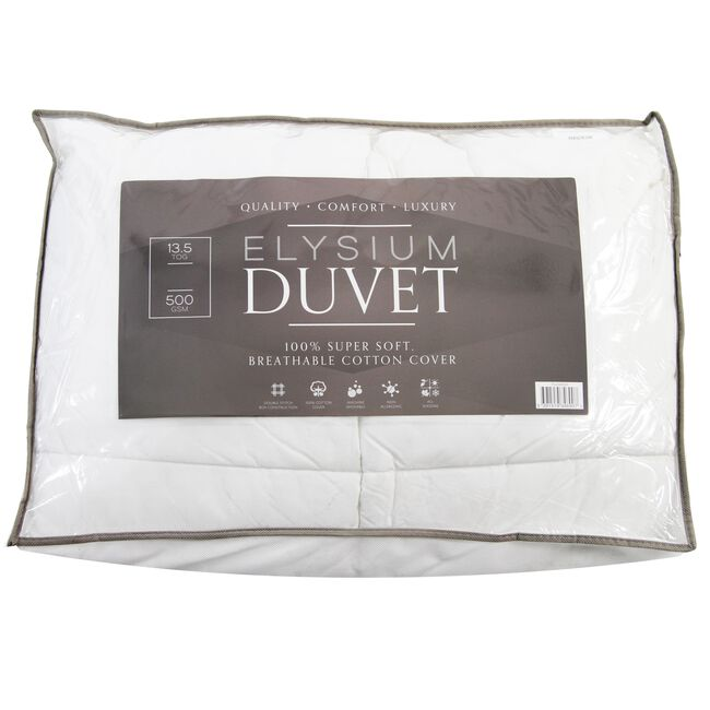 Elysium Microfibre Duvet Single
