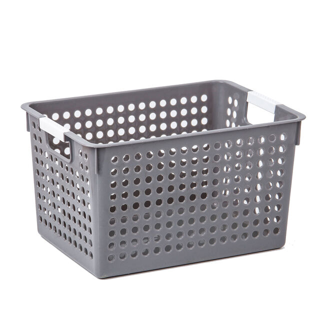 Connect Storage Basket Grey 6L