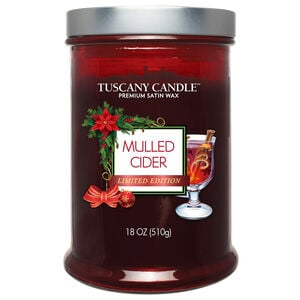 Tuscany Double WIck Candle Mulled Cider