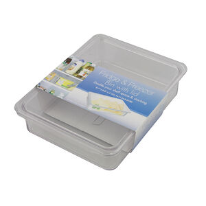 Fridge & Freezer Bin With Lid 221cm x 172cm x 5cm