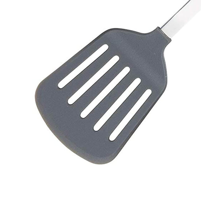 Soft Grip Handled Non-Stick Slotted Turner