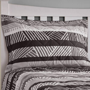 Lyons Grey Pillowshams 50cm x 75cm