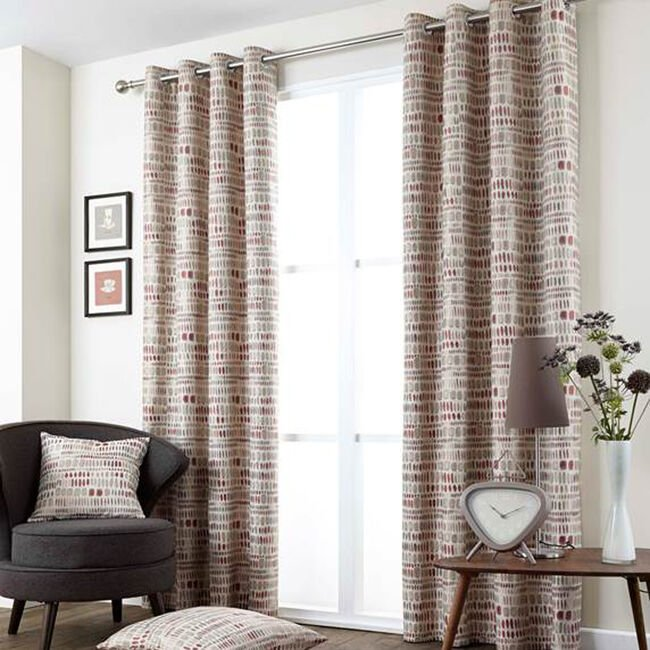PRODIGY RED 66X54 Curtain