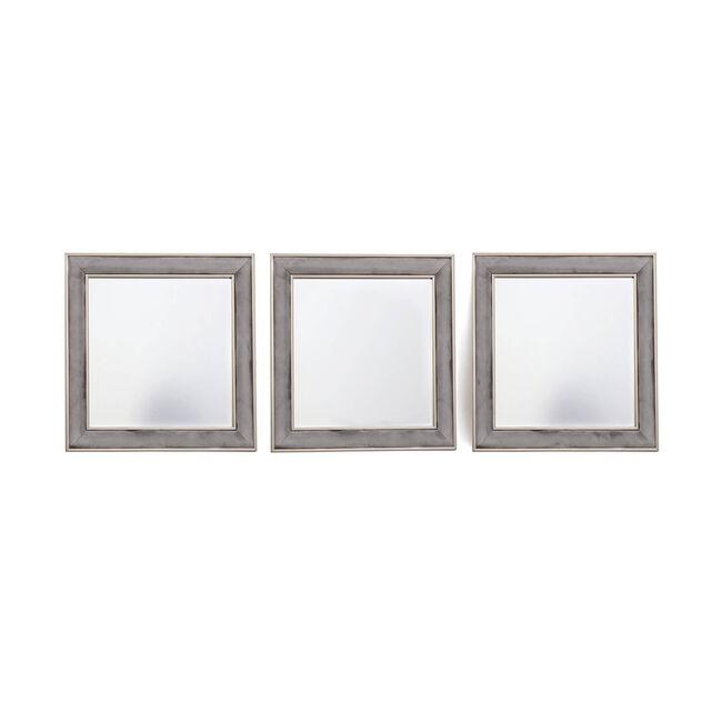 Mirror Set 3 Piece - Grey